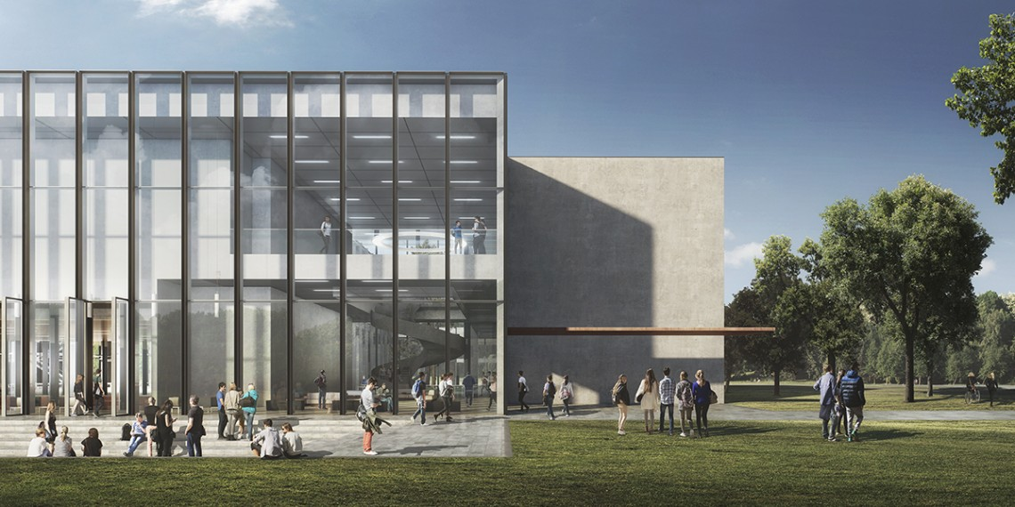 Kaan architecten designs new tilburg university building for College building design