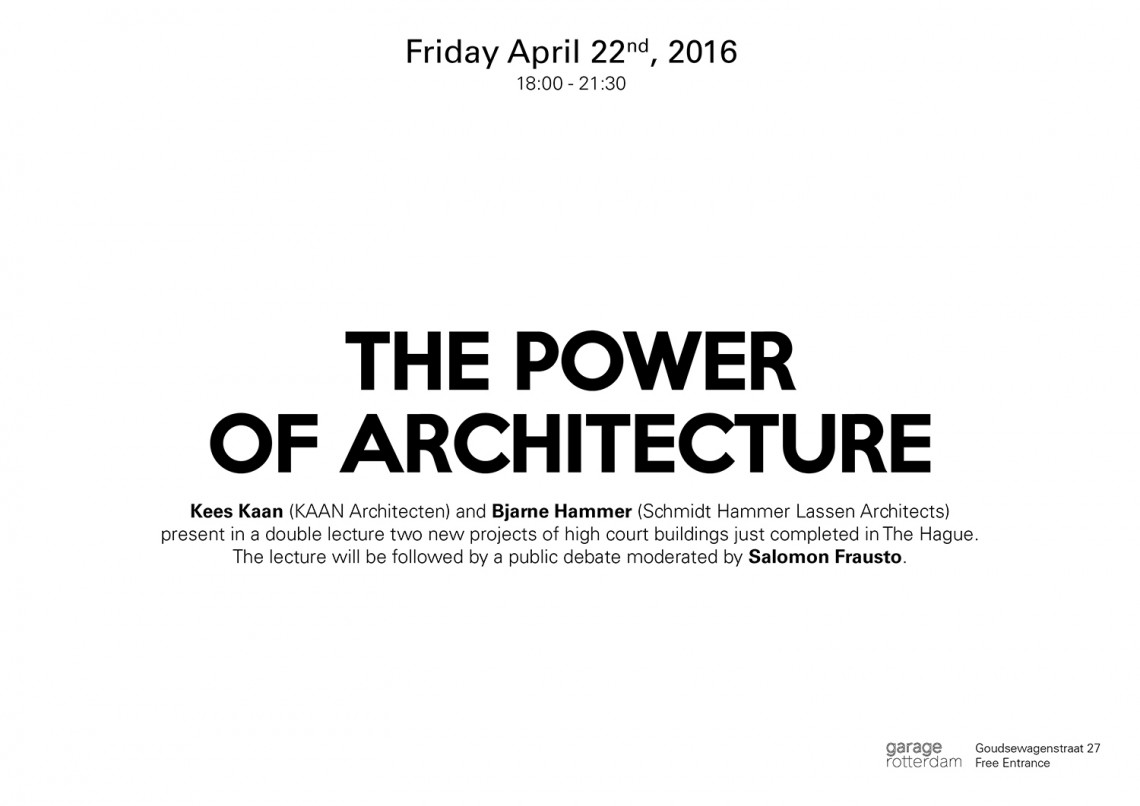 The Power of Architecture_invitation