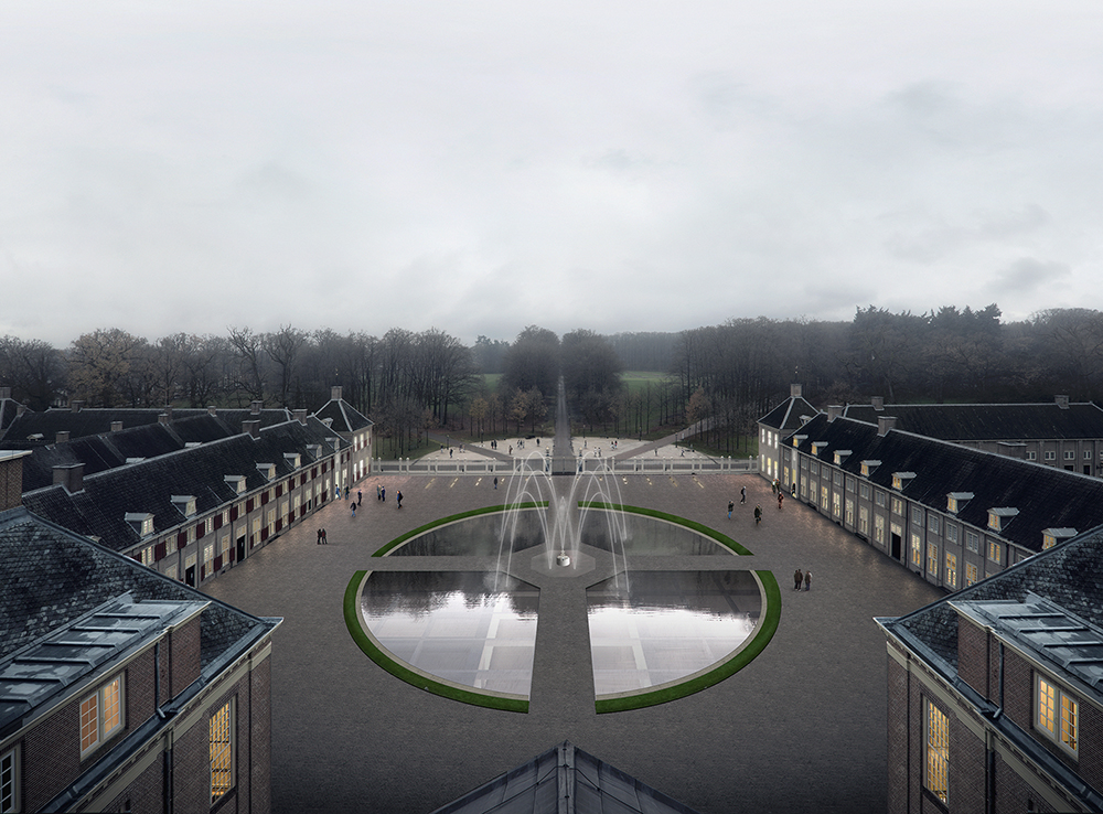 2a_KAAN_Museum Paleis Het Loo_Bassecour view